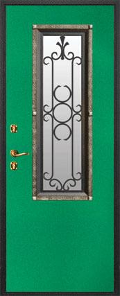 стальные двери с наружной отделкой металлом